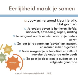 Online trainingen over relaties