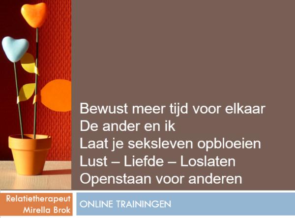 Nog meer online trainingen